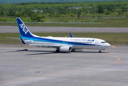 ポン太さんが、新千歳空港で撮影した全日空 737-881の航空フォト(飛行機 写真・画像)