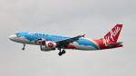 誘喜さんが、香港国際空港で撮影したエアアジア A320-216の航空フォト(写真)