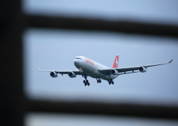 タミーさんが、成田国際空港で撮影したスイスインターナショナルエアラインズ A340-313Xの航空フォト(写真)