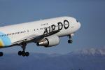 birdlandさんが、旭川空港で撮影したAIR DO 767-381の航空フォト(写真)