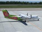 アイスコーヒーさんが、函館空港で撮影したエアーニッポンネットワーク DHC-8-314Q Dash 8の航空フォト(飛行機 写真・画像)