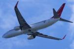 yabyanさんが、関西国際空港で撮影したイースター航空 737-86Jの航空フォト(飛行機 写真・画像)
