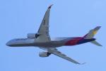 yabyanさんが、関西国際空港で撮影したアシアナ航空 A350-941XWBの航空フォト(写真)