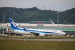 テクストTPSさんが、松山空港で撮影した全日空 737-881の航空フォト(写真)