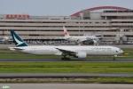 妄想竹さんが、羽田空港で撮影したキャセイパシフィック航空 777-367/ERの航空フォト(写真)