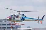 Mizuki24さんが、東京ヘリポートで撮影した中日本航空 AS350B Ecureuilの航空フォト(写真)