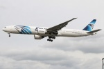 たみぃさんが、ロンドン・ヒースロー空港で撮影したエジプト航空 777-36N/ERの航空フォト(写真)