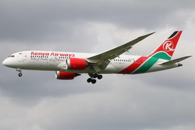 ケニア航空 Boeing 787-8 Dreaml...