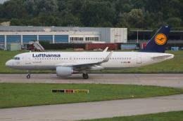 たみぃさんが、ハンブルク空港で撮影したルフトハンザドイツ航空 A320-214の航空フォト(飛行機 写真・画像)