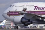 senyoさんが、成田国際空港で撮影したタイ国際航空 747-4D7の航空フォト(写真)