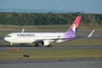 LEGACY-747さんが、新千歳空港で撮影したハワイアン航空 767-3CB/ERの航空フォト(写真)