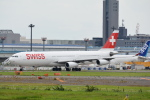 LEGACY-747さんが、成田国際空港で撮影したスイスインターナショナルエアラインズ A340-313Xの航空フォト(飛行機 写真・画像)