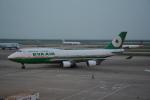 LEGACY-747さんが、上海浦東国際空港で撮影したエバー航空 747-45Eの航空フォト(飛行機 写真・画像)