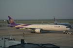 LEGACY-747さんが、上海浦東国際空港で撮影したタイ国際航空 777-3AL/ERの航空フォト(飛行機 写真・画像)