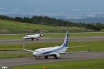 妄想竹さんが、福島空港で撮影した全日空 737-881の航空フォト(写真)