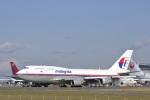 senyoさんが、成田国際空港で撮影したマレーシア航空 747-4H6Mの航空フォト(写真)