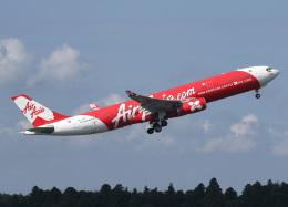voyagerさんが、成田国際空港で撮影したインドネシア・エアアジア・エックス A330-343Xの航空フォト(飛行機 写真・画像)