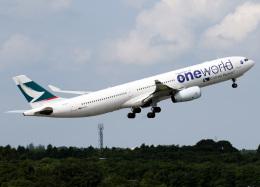voyagerさんが、成田国際空港で撮影したキャセイパシフィック航空 A330-343Xの航空フォト(飛行機 写真・画像)