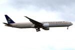 KAW-YGさんが、ロンドン・ヒースロー空港で撮影したサウディア 777-368/ERの航空フォト(写真)