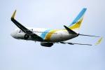 撮り撮り人さんが、岡山空港で撮影したAIR DO 737-781の航空フォト(写真)