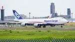 てつさんが、成田国際空港で撮影した日本貨物航空 747-8KZF/SCDの航空フォト(写真)