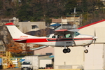 Chofu Spotter Ariaさんが、調布飛行場で撮影したエス・ジー・シー佐賀航空 TU206G Turbo Stationair 6 IIの航空フォト(飛行機 写真・画像)