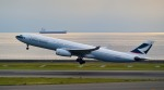 kamerajiijiさんが、中部国際空港で撮影したキャセイパシフィック航空 A330-343Xの航空フォト(写真)