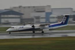 tecasoさんが、伊丹空港で撮影したANAウイングス DHC-8-402Q Dash 8の航空フォト(飛行機 写真・画像)