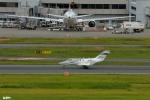 妄想竹さんが、羽田空港で撮影したホンダ・エアクラフト・カンパニー HA-420の航空フォト(写真)