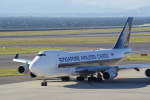 yabyanさんが、中部国際空港で撮影したシンガポール航空カーゴ 747-412F/SCDの航空フォト(写真)