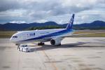 憂鬱さんが、広島空港で撮影した全日空 777-281/ERの航空フォト(写真)