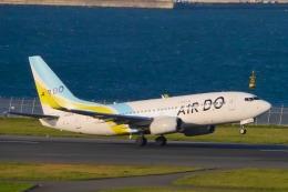 山麓さんが、羽田空港で撮影したAIR DO 737-781の航空フォト(飛行機 写真・画像)