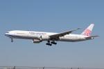 チャッピー・シミズさんが、ロサンゼルス国際空港で撮影したチャイナエアライン 777-36N/ERの航空フォト(写真)