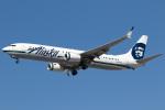 チャッピー・シミズさんが、ロサンゼルス国際空港で撮影したアラスカ航空 737-990/ERの航空フォト(写真)