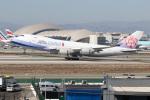 チャッピー・シミズさんが、ロサンゼルス国際空港で撮影したチャイナエアライン 747-409F/SCDの航空フォト(写真)