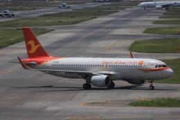 tecasoさんが、関西国際空港で撮影した天津航空 A320-214の航空フォト(飛行機 写真・画像)
