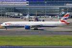 Chofu Spotter Ariaさんが、羽田空港で撮影したブリティッシュ・エアウェイズ 777-336/ERの航空フォト(写真)