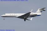Chofu Spotter Ariaさんが、羽田空港で撮影した中国企業所有 G-V-SP Gulfstream G550の航空フォト(飛行機 写真・画像)