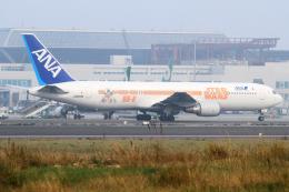 KIMISTONERさんが、台湾桃園国際空港で撮影した全日空 767-381/ERの航空フォト(飛行機 写真・画像)