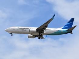 航空フォト:PK-GFJ ガルーダ・インドネシア航空 737-800