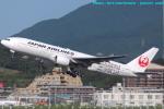 いおりさんが、福岡空港で撮影した日本航空 777-289の航空フォト(写真)
