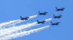 N村さんが、松山空港で撮影した航空自衛隊 T-4の航空フォト(写真)