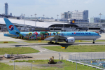 yabyanさんが、関西国際空港で撮影した大韓航空 777-3B5/ERの航空フォト(飛行機 写真・画像)