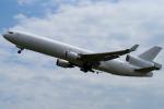 yabyanさんが、関西国際空港で撮影したウエスタン・グローバル・エアラインズ MD-11Fの航空フォト(飛行機 写真・画像)