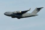 うめやしきさんが、厚木飛行場で撮影したオーストラリア空軍 C-17A Globemaster IIIの航空フォト(写真)