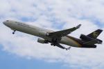 yabyanさんが、関西国際空港で撮影したUPS航空 MD-11Fの航空フォト(飛行機 写真・画像)