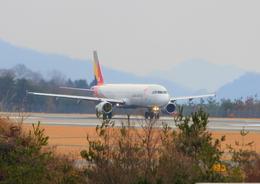 広島空港 - Hiroshima Airport [HIJ/RJOA]で撮影されたアシアナ航空 - Asiana Airlines [OZ/AAR]の航空機写真