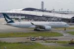 yabyanさんが、関西国際空港で撮影したキャセイパシフィック航空 A350-941の航空フォト(飛行機 写真・画像)