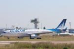 安芸あすかさんが、パリ オルリー空港で撮影したコルセール A330-343Xの航空フォト(写真)