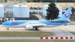 誘喜さんが、パリ オルリー空港で撮影したトゥイ・エアラインズ・ベルギー 737-86Nの航空フォト(写真)